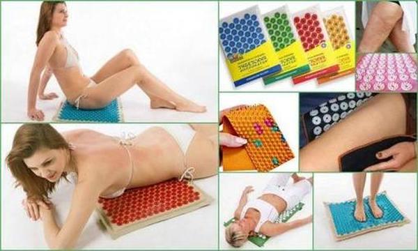 Массажные коврики для спины виды, польза
