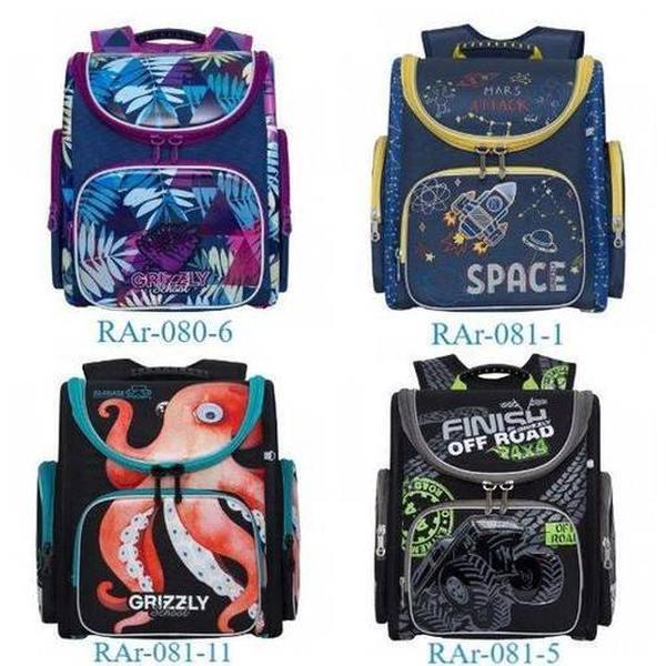Сохрани ребенку здоровую спину! Обзор рюкзаков Grizzly, одобренных травматологами!