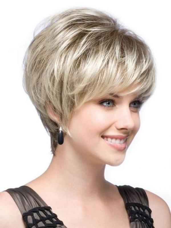 Деловые прически на короткие волосы восемь