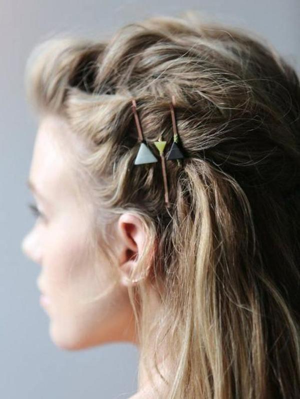 Простые ежедневные прически на средние волосы десять