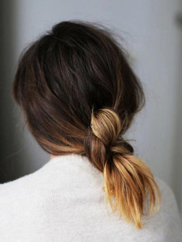 Прически на средние волосы на каждый день четыре