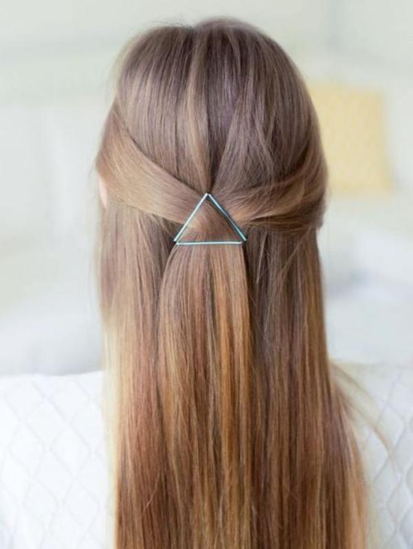 Простые ежедневные прически на длинные волосы восемь