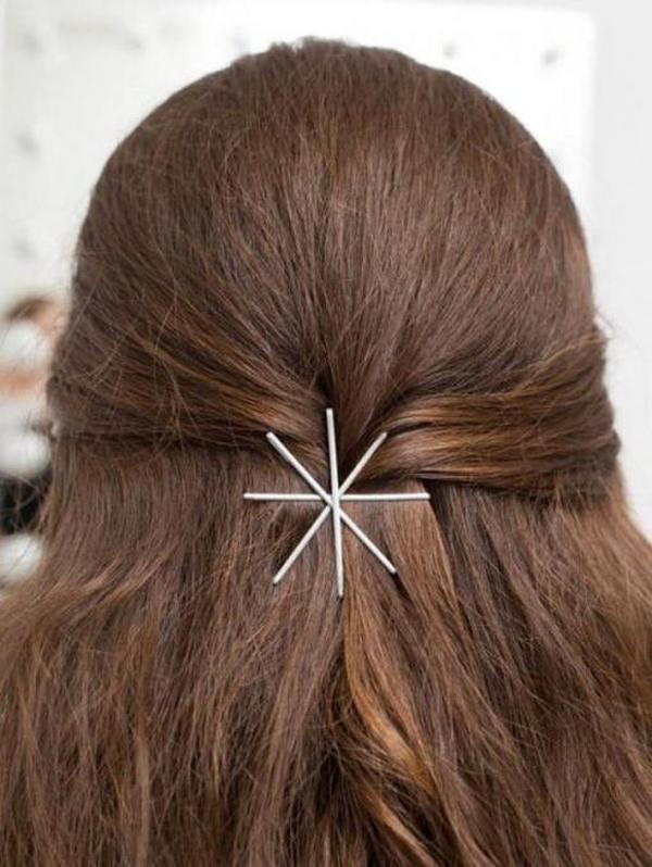 Простые ежедневные прически на длинные волосы шесть