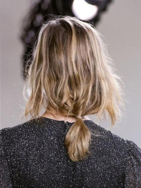 Простые ежедневные прически на средние волосы шесть