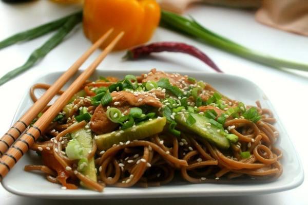 Удон с курицей — 6 рецептов, как приготовить в домашних условиях: с грибами, овощами, соусом терияки