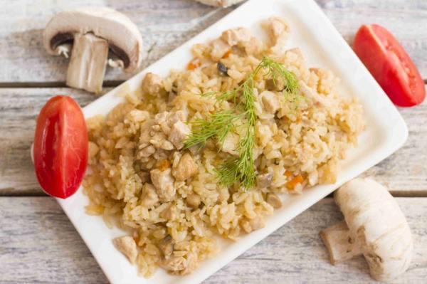 Ризотто с грибами — 11 рецептов приготовления в домашних условиях