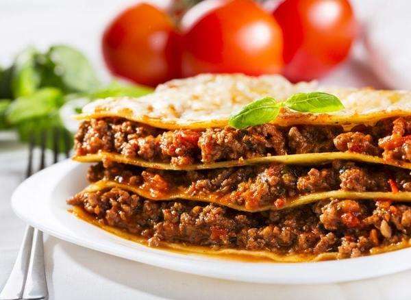 Лазанья рецепт с фаршем в духовке — 9 рецептов
