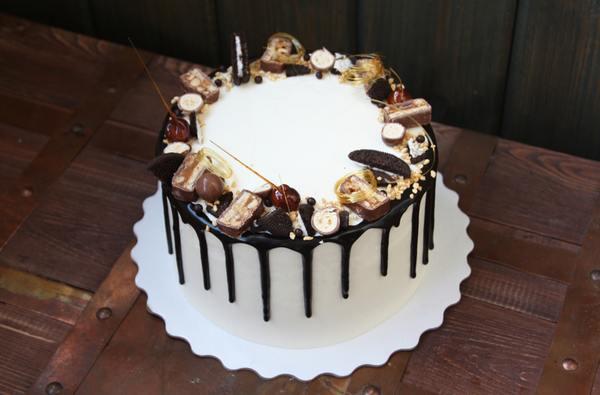 Торт с подтеками — 4 рецепта приготовления и оформления торта в домашних условиях